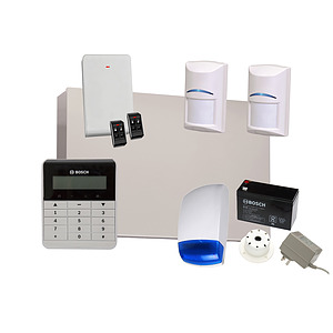 Solution 3000 with 2 Wireless PIR + Text Codepad