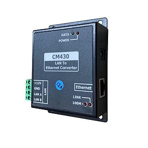 Lan to 100Mb Ethernet Module Converter