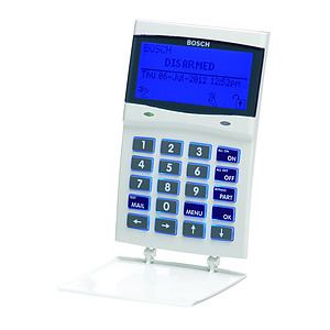 Graphic Codepad with Smartcard - White/Blue